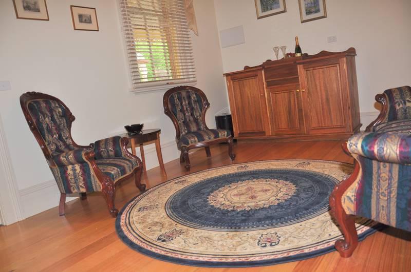 Barwidgee Homestead Guest Sitting Room